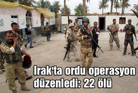 Irak'ta Felluce'ye Ordu Operasyon Düzenledi