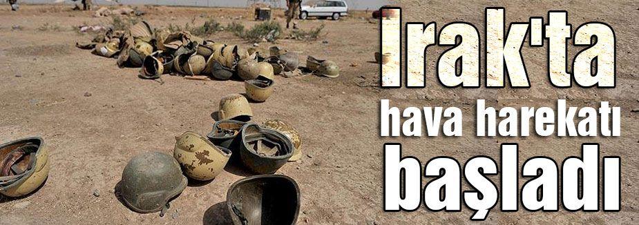 Irak'ta hava harekatı...