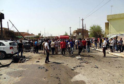 Irak'ta intihar saldırısı...