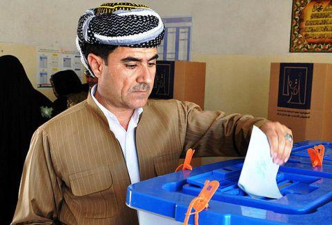 Irak'ta seçimlere katılım belli oldu...