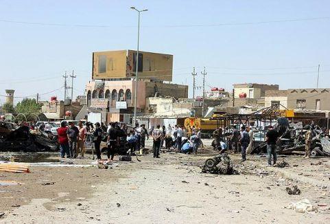 Irak'ta şiddet olayları...