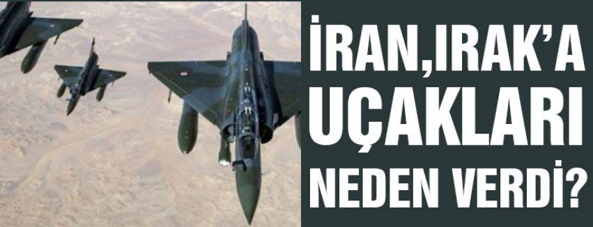İRAN, IRAK'A 130 UÇAĞI NEDEN VERDİ?
