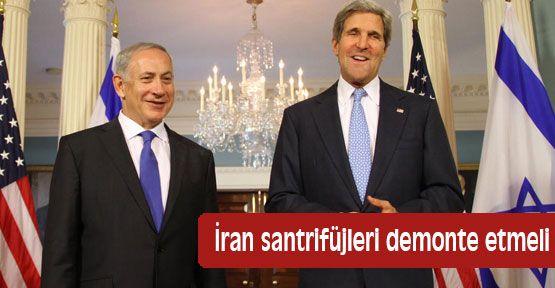 İran santrifüjleri demonte etmeli