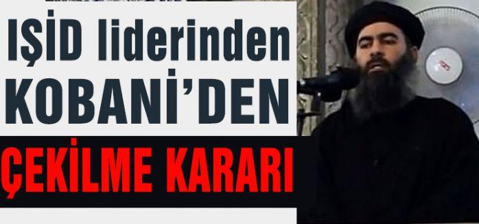 IŞİD KOBANİ'DEN ÇEKİLİYOR MU?