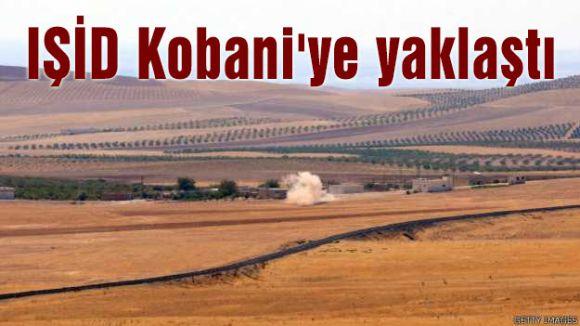 IŞİD Kobani'ye yaklaştı
