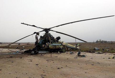IŞİD Minig'de 7 helikopteri yaktı