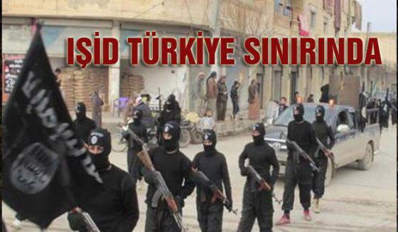IŞİD sınıra kadar dayandı...