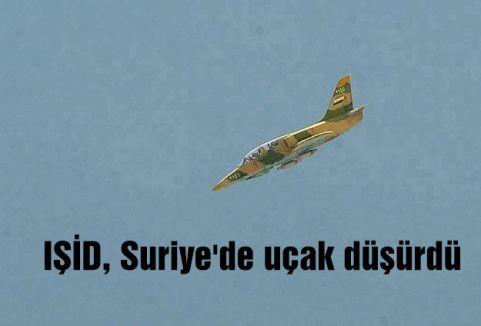 IŞİD, Suriye'de uçak düşürdü