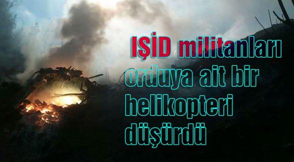 IŞİD tarafından helikopter düşürüldü