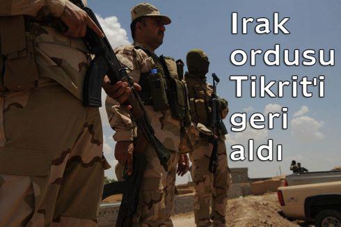 IŞİD'' tenTikrit'i geri alındı