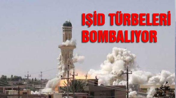 IŞİD, türbeleri bombalıyor