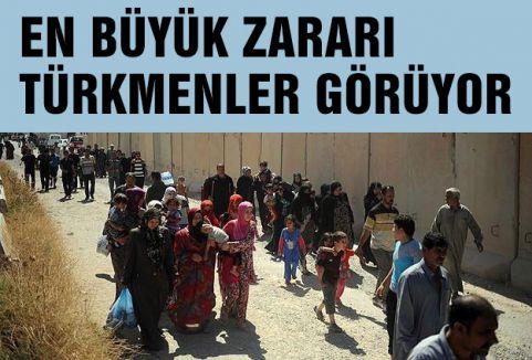 IŞİD Türkmen Bölgelerini Hedef Aldı
