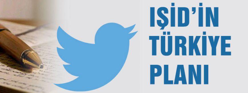İŞİD'in Türkiye planı