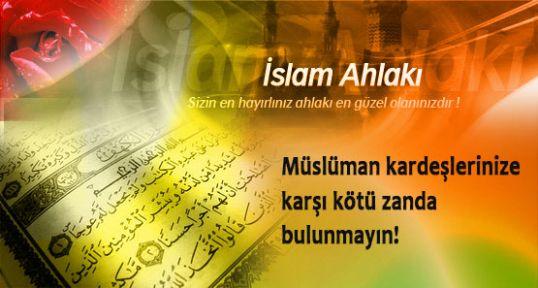 İslam Ahlakı Üzerine