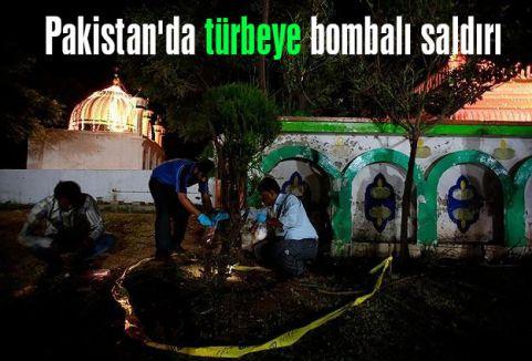 İslamabad'da türbeye bombalı saldırı düzenlendi