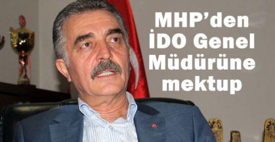 MHP Bursa mitingine katılımı engelleyen İDO'ya mektip