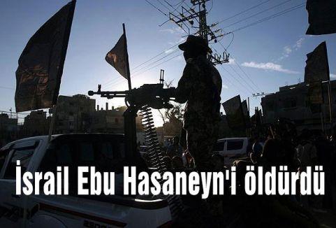 İsrail Ebu Hasaneyn'i öldürdü