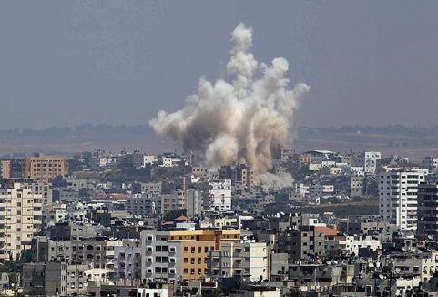İsrail Filistin Meclisini bombaladı...