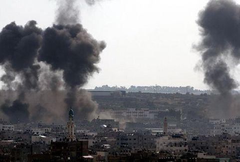 İsrail, Gazze'de  5 noktayı vurdu