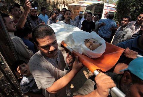 İsrail sivilleri kasten öldürüyor...