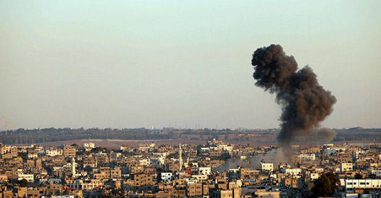 İsrail'den Gazze'nin güneyine hava saldırısı