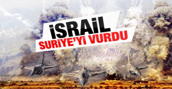 İsrail'den Suriye'ye Saldırı...