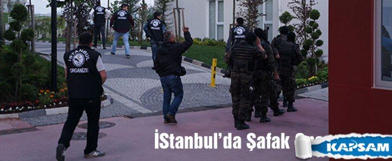 İstanbul'da sabah saatlerinde operasyon