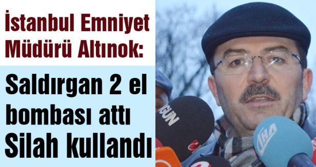 İstanbul Emniyet Müdüründen saldırıyla ilgili açıklama