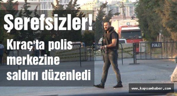 İstanbul Kıraç'ta polis merkezine saldırı
