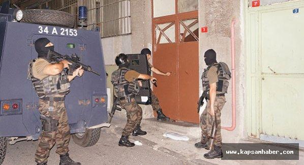 İstanbul Polisinden hava destekli operasyon
