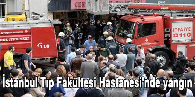 İstanbul Tıp Fakültesi Hastanesi'nde yangın