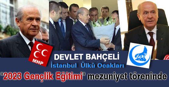 İstanbul Ülkü Ocakları Bahçeli'yi Ağırladı