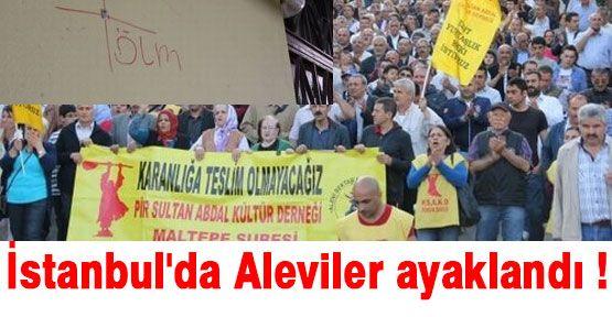 İstanbul'da Aleviler İsyan Etti