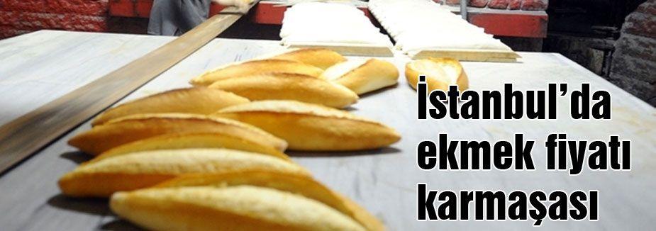 İstanbul'da ekmek fiyatı karmaşası