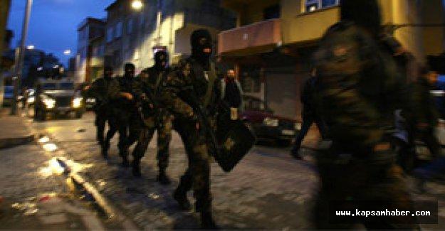 İstanbul'da operasyon...