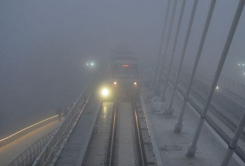 İstanbul'da yoğun sis...