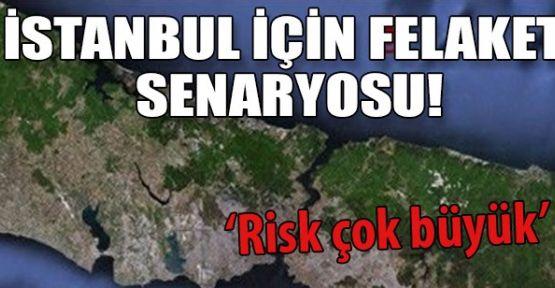 İstanbul'daki Korkutan Risk...