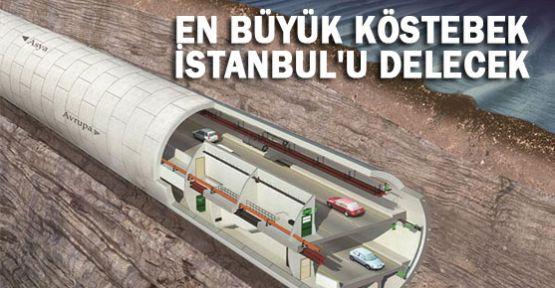 istanbul'u Delecek Dev Matkap Üretiliyor