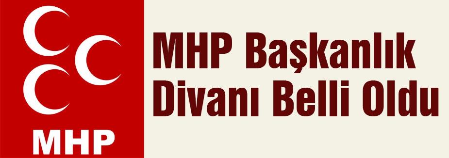 İşte MHP'nin Başkanlık Divanı