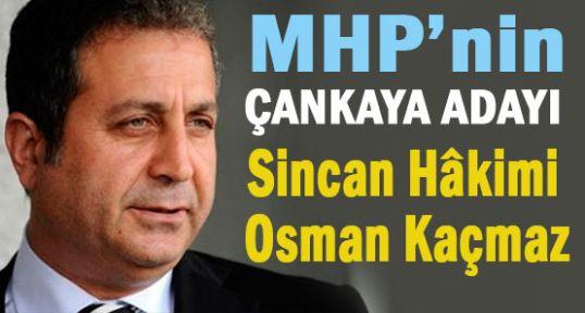 İşte MHP'nin Çankaya Adayı...