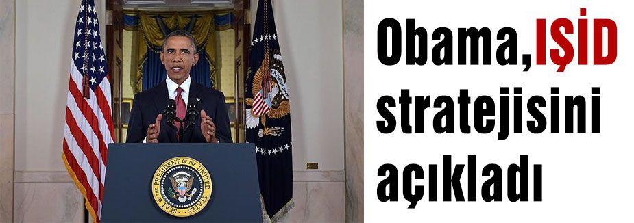 İşte Obama'nın IŞİD stratejisi