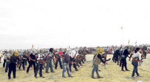 İşte Suriye'deki Kürt ordusu!