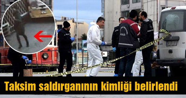 İşte Taksim Saldırganı...