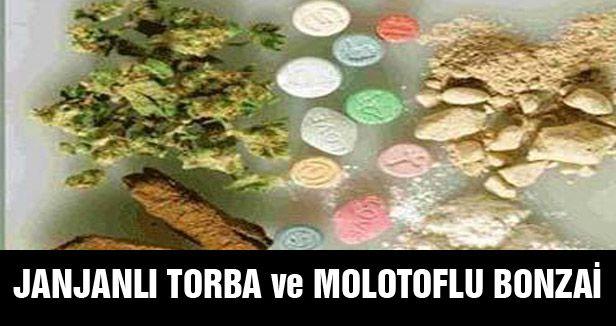 JANJANLI TORBA ve MOLOTOFLU BONZAİ