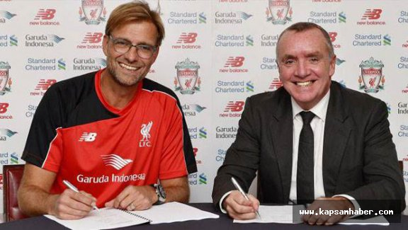 Jurgen Klopp resmen Liverpool'da