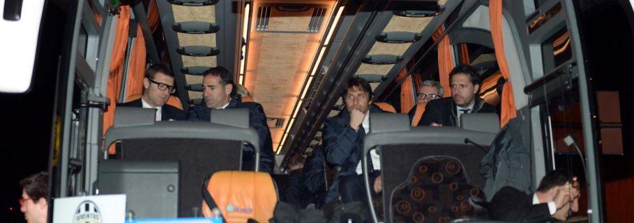 Juventus, Trabzon'a geldi