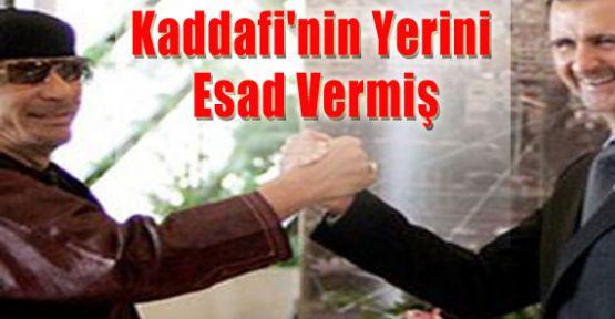 Kaddafi'nin Yerini Esad Vermiş
