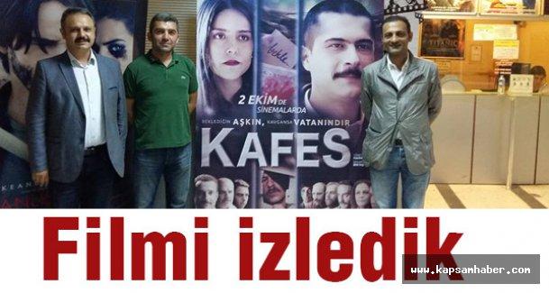 KAFES Filmine Samsun'da Büyük İlgi