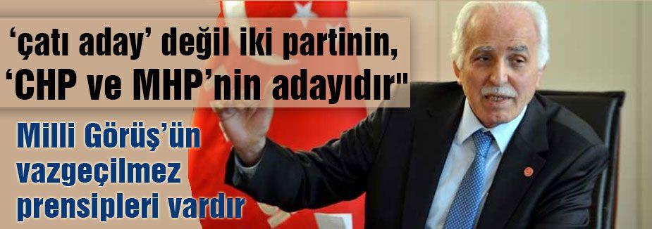 Kamalak: 'CHP ve MHP'nin adayıdır'