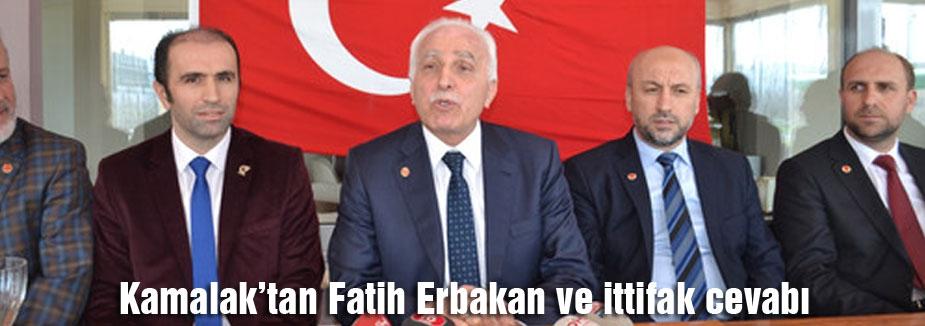 Kamalak'tan Fatih Erbakan ve ittifak cevabı